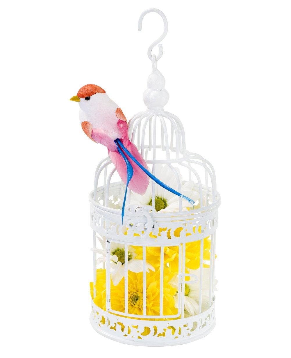 Amazon.com: Talking Tables Be Happy White Birdcage Wedding Table ...