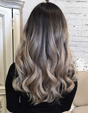 Full Shine Human Hair Halo Extensions Invisible Fish Wire Hair 18 Inch 120g Diy Set Balayage Human Hair Clip In 100 Real Human Hair 1b 18 Ombre