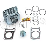 0b9970b9c493 Yamaha TTR 125 Cylinder Piston Rings Top End Kit Set TTR 125 TTR-125 2000