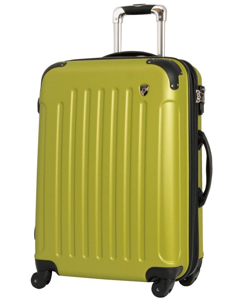 [グリフィンランド]_Griffinland TSAロック搭載 スーツケース 超軽量 マット加工 newFK10371 ファスナー開閉式 B01GTB2TU2 SS型|ウグイス ウグイス SS型