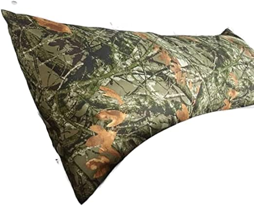 Amazon Com Mainstays Microfiber Body Pillow Cover Camouflage Home Kitchen