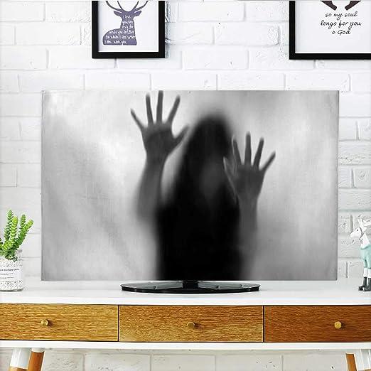 Auraisehome - Protector de TV para exterior de zombi de Spiderweb ...