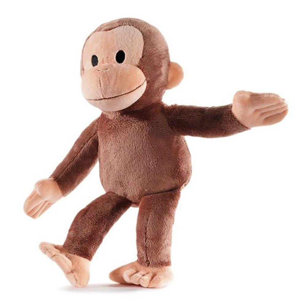 Stuffed animals curious george kohls cares plush 15 for Amazon com pillow pets