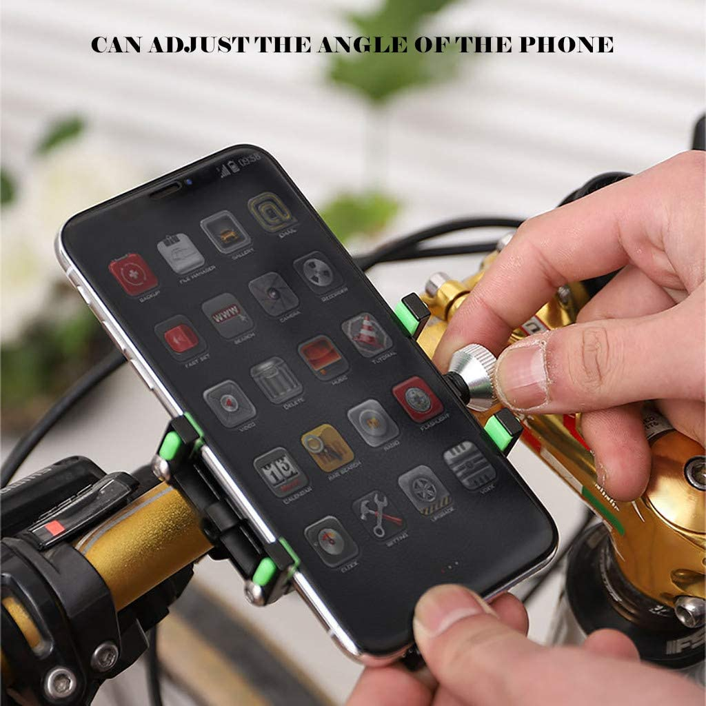 6//6s Plus 95mm//2.17 Phones Galaxy S9//S9 Plus Universal Motorcycle Handlebar Mount Fits for iPhone XR 55mm XS Max//8//8 Plus Bicycle Phone Holder FOLOU Bike Phone Mount 7