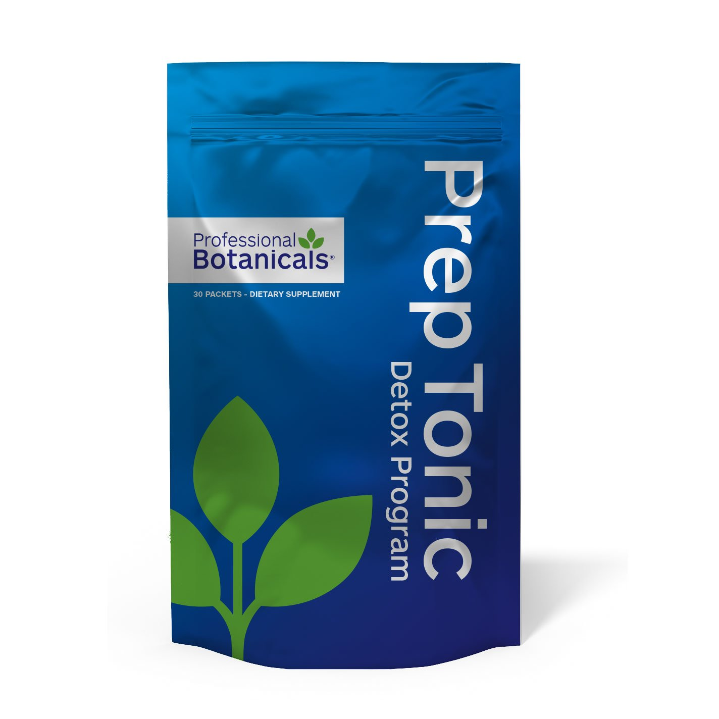 Professional Botanicals Prep Tonic Program - Gentle Detoxification Multi Organ Cleanse and Tune Up - Metabolism & Energy Support - 30 packets