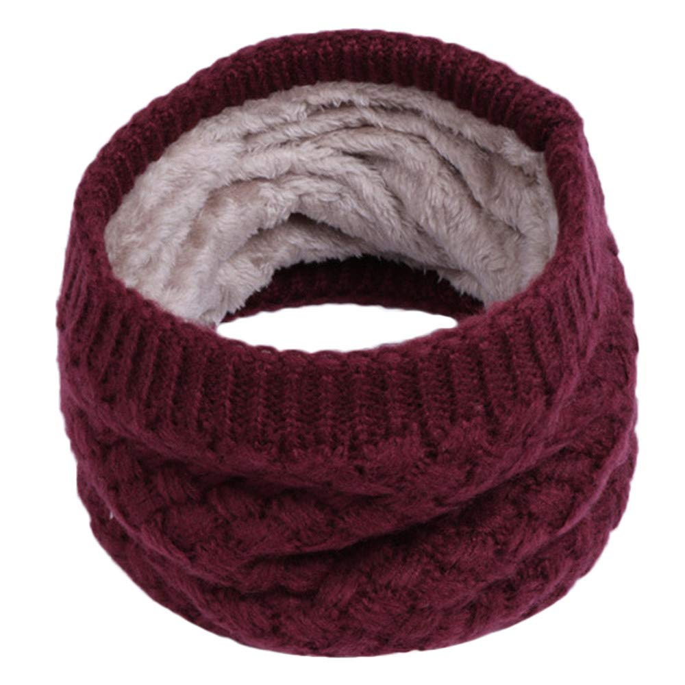 Amazon.com: Voberry@ Autumn Winter Boy Girl Baby Scarf Chunky Neck Warmer Neckerchief Infinity Scarves (Beige): Clothing