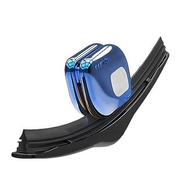 gaeruite Auto Limpiaparabrisas Restaurador de, rayas de goma limpiador de reparación Herramienta Reparación, Auto