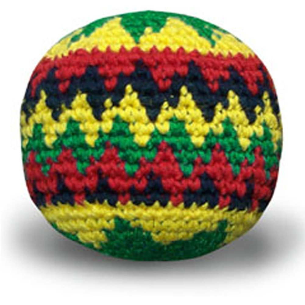 World Footbag Rasta Hacky Sack Footbag World Footbag Inc. 1846