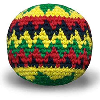 Amazon World Footbag Rasta Hacky Sack Footbag Sports Outdoors