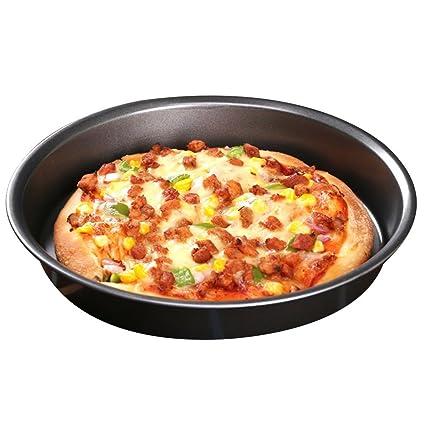 Bandeja para Bandeja de Pizza Herramienta para Horno doméstico Horno microondas Comida Occidental No pegajosa Bandeja