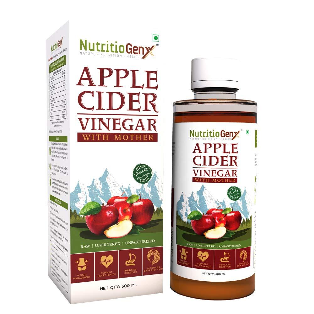 Nutritiogenx Apple Cider Vinegar with Mother 500ml