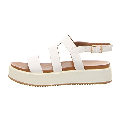 best authentic ac241 9733e Inuovo Damen Sandaletten 8747 White weiß 488760: Amazon.de ...