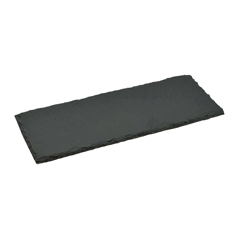 Argon Tableware Slate Food/Antipasti Serving/Starter / Side Plate - 290x120mm