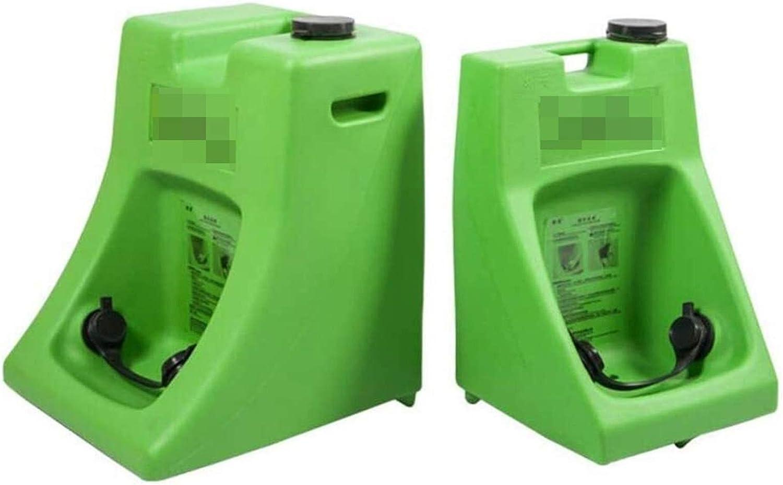 Seguridad Portátil Lavaojos 15 minutos con la tapa de la estación de Lavaojos de Emergencia flujo de gravedad a 16 galones de capacidad de lavado de ojos 1128