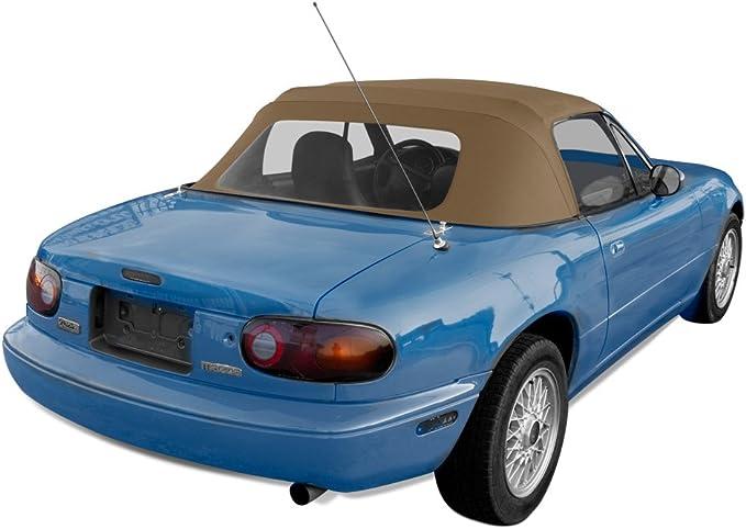 Mazda MX5 MK1 Miata Eunos Black Vinyl PVC Car Hood soft top Original Style