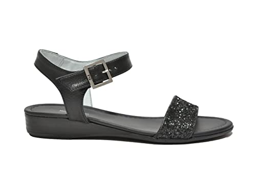 NERO GIARDINI Sandali scarpe donna nero 7600 mod. P717600D