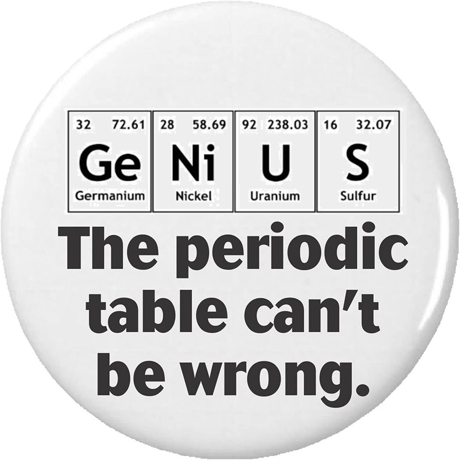 Amazon genius the periodic table cant be wrong 225 amazon genius the periodic table cant be wrong 225 keychain science chemistry funny clothing gamestrikefo Image collections