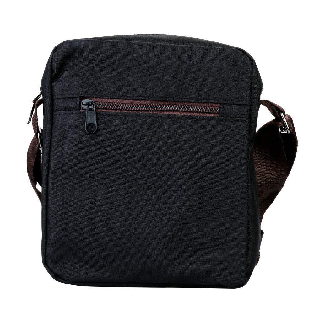 WEUIE Mens Vintage Canvas Retro Messenger Bag Cross-Body Bag Small Shoulder Bag Purse Daypacks Work Bag by WEUIE (Image #2)