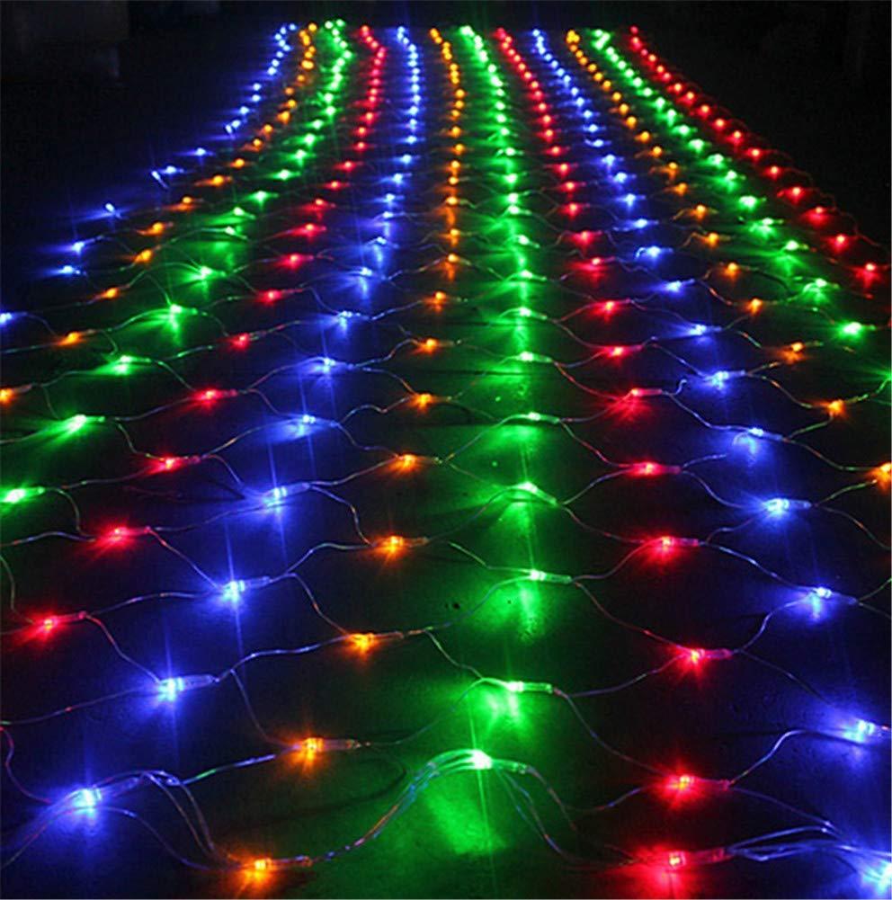 MR.MO Net Mesh Fairy Light, Natale Esterne Impermeabile,LED 8 * 10M 2600 Luci,Festeggiamenti Feste Decorazioni Quotidiane, Luci Colorate