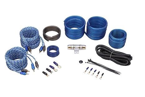 Amazon.com: Rockville RWK82 8 Gauge 4 Chan Car Amp Wiring ...