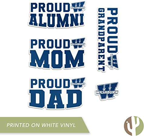15-ounce NCAA Washburn Ichabods Sublimated #1 Dad Mug