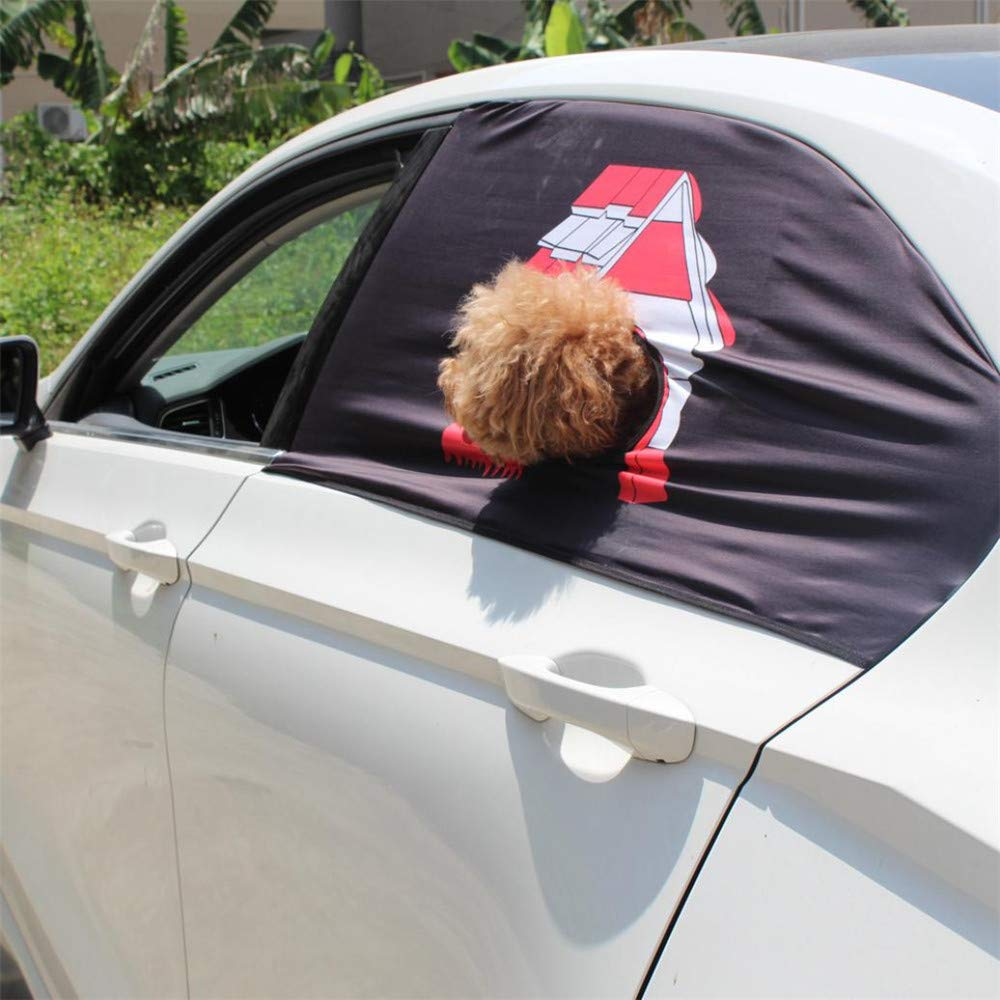 Anferstore Foldable Car Visor Cover Window Sun Shade Pet Dog Hang Out Car Window Shade
