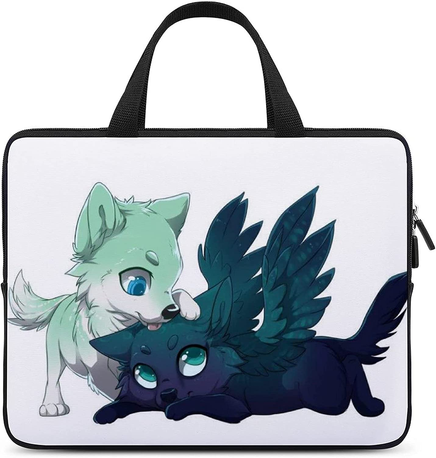 Furry Wolf Laptop Sleeve case Sleeves Suitable for Asus/Dell/Lenovo/HP/Samsung/Sony/Toshiba/Apple 17inch