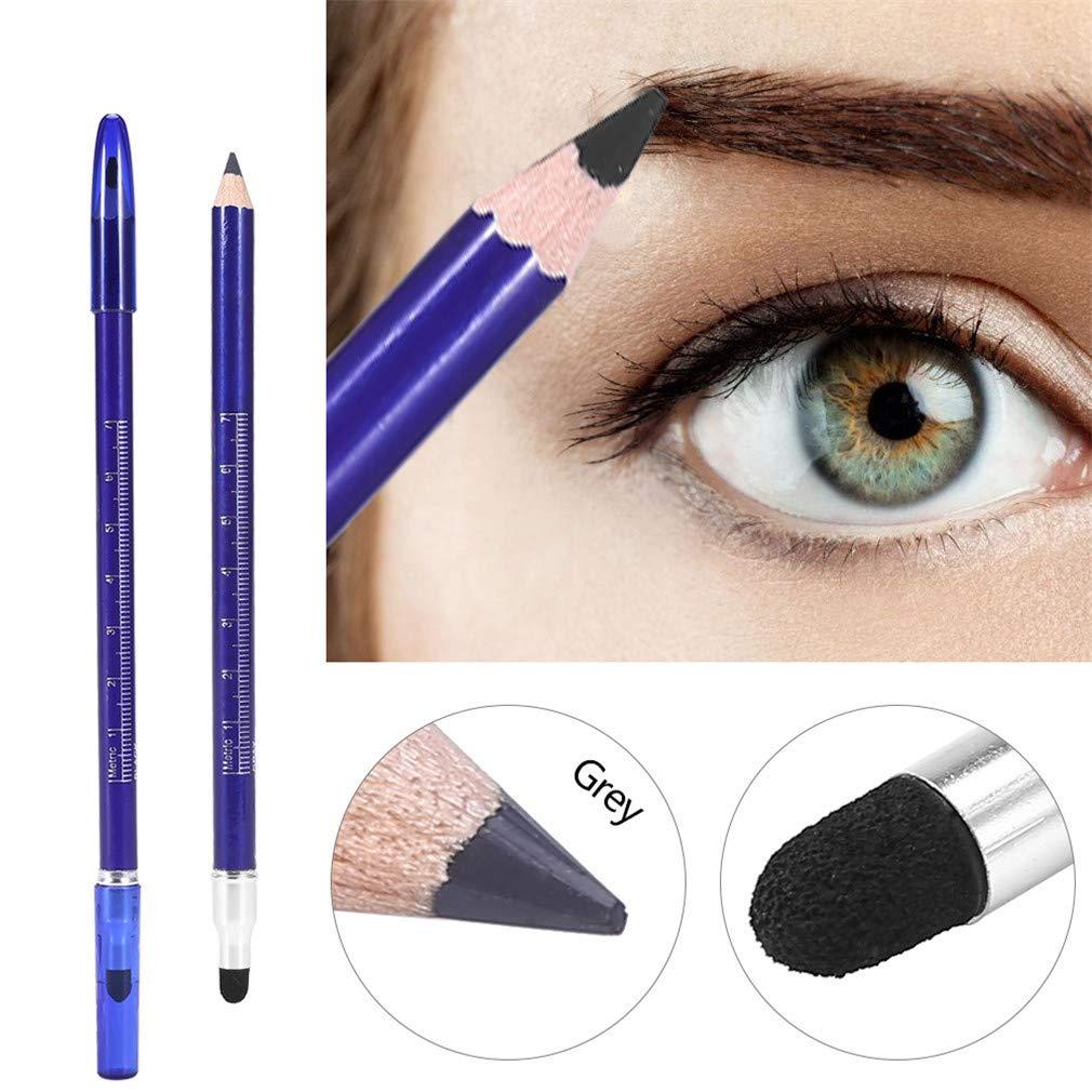 Amazon Grey Semi Permanent Double Head Eyebrow Pencil