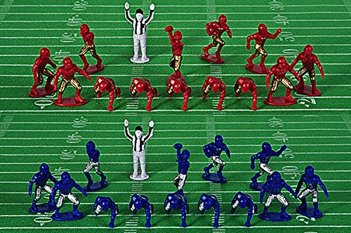 Kaskey Kids Football Guys: Red vs. Blue  Inspires Imagination with Open-Ended Play  Includes 2 Full Teams and More  For Ages 3 and Up by Kaskey Kids (Image #2)