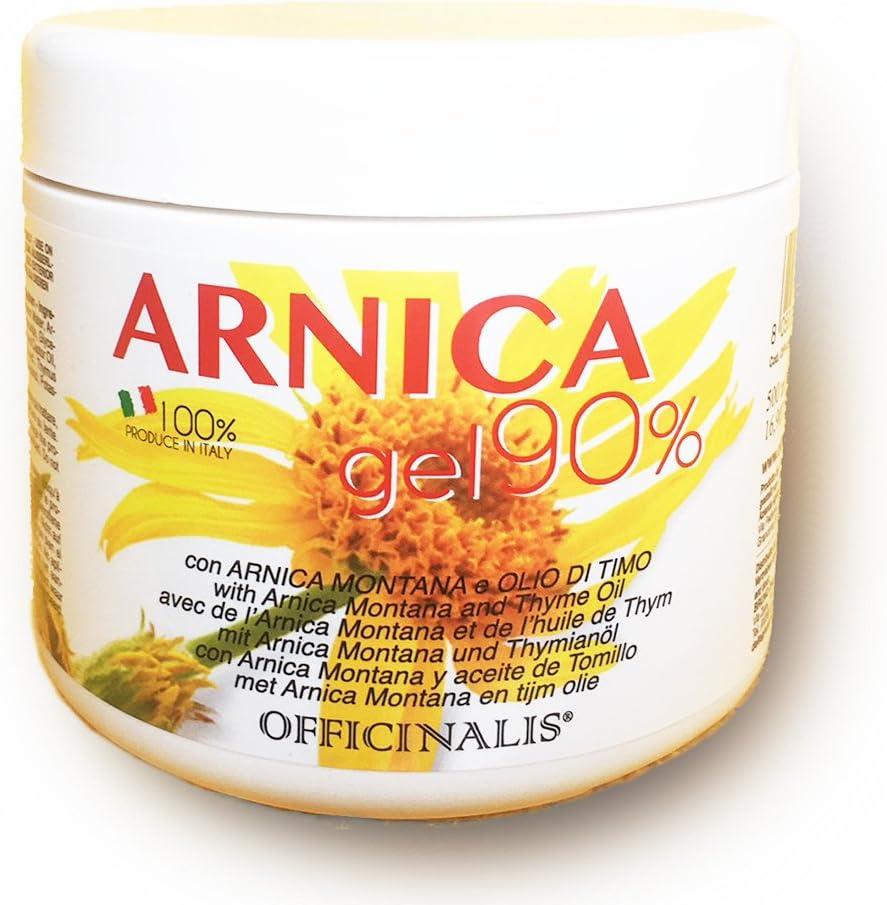 OFFICINALIS Gel Arnica officinalis 90% Ml. 500 Reumatismo esguinces contusiones