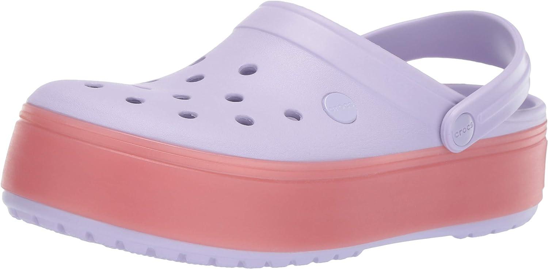 Crocs Crocband Platform Clog Shoe