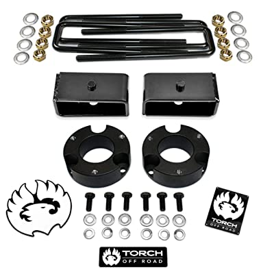 """TORCH 3"""" Front 2"""" Rear Leveling Lift Kit for 1995.5-2004 Toyota Tacoma 2WD 4WD TRD SR5: Automotive"""