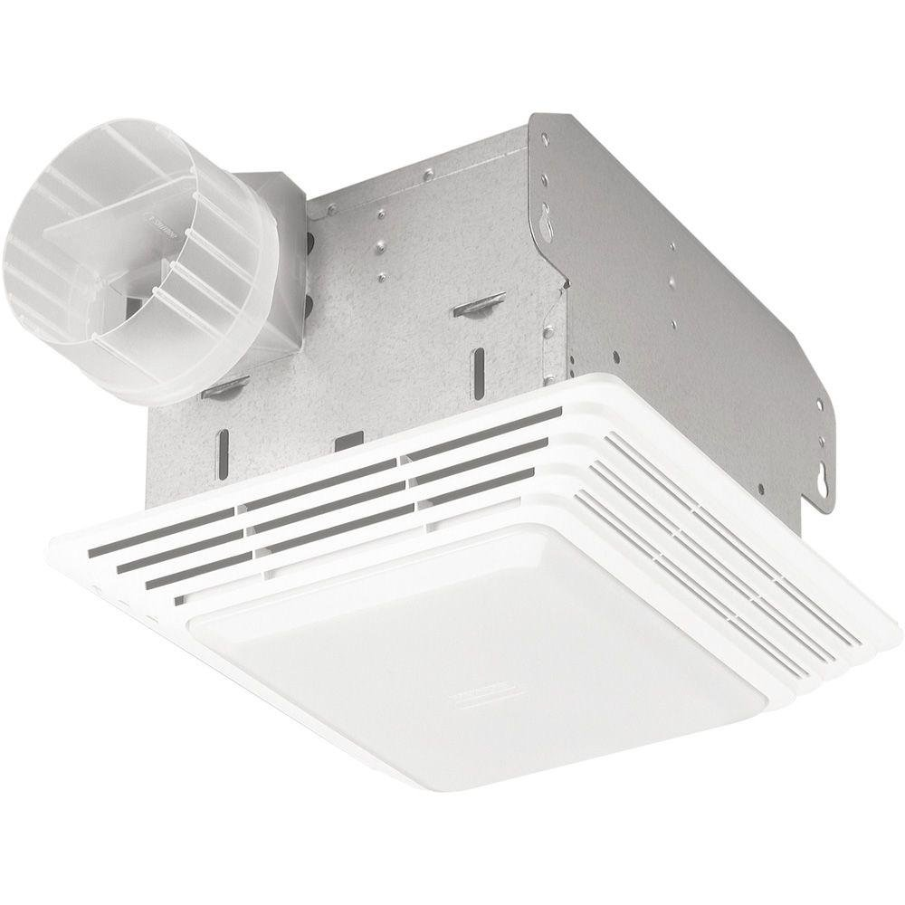 Broan 678 Ventilation Fan And Light Combination, 50 CFM And 2.5 Sones    Built In Household Ventilation Fans   Amazon.com
