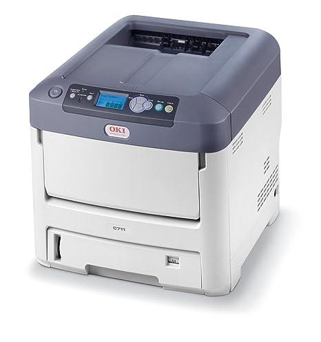 OKI C711n - Impresora láser (Laser, Color, 600 x 1200 dpi, A4, 630 ...