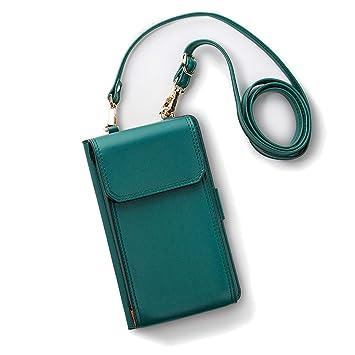 Amazon.com: Elegante cartera de piel para mujeres y niñas ...
