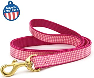 product image for Up Country Pink Gingham Dog Leash