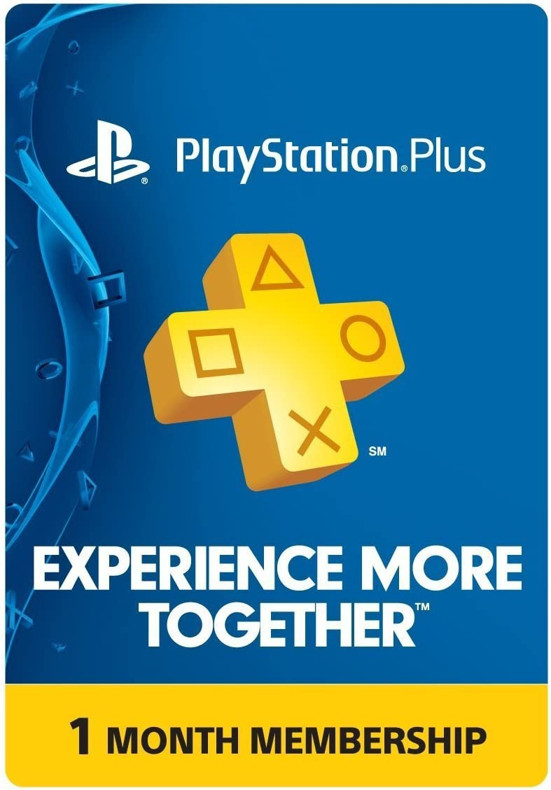 Amazon.com: PlayStation Plus: 1 Month Membership [Digital Code]: Video Games