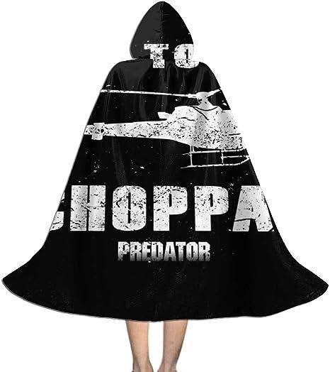 OJIPASD Predator Get To The Choppa Capa con Capucha Unisex para ...