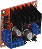 sourcingmap® L298N Doppio H Ponte DC Motore Passo-passo Guida Modulo per Arduino