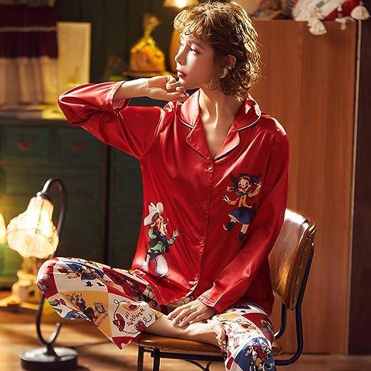 MY SHORT SILK pajama with french lace women sleepwear sexy