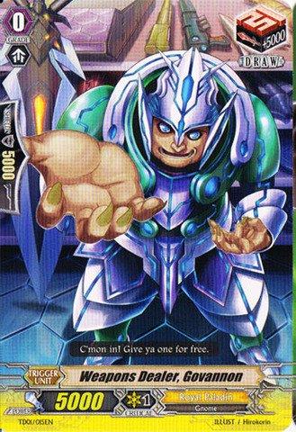 Cardfight!! Vanguard TCG - Weapons Dealer, Govannon (TD01/015EN) - Trial Deck 1: Blaster Blade