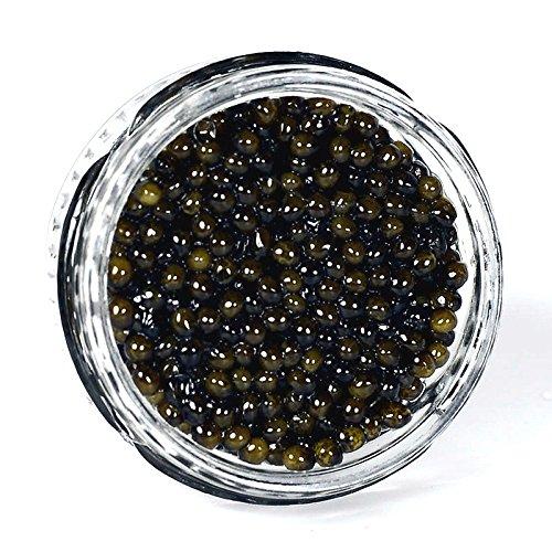Kaluga Hybrid Amber Caviar, Huso Dauricus, River Beluga - 35.2 oz by Marky's Caviar