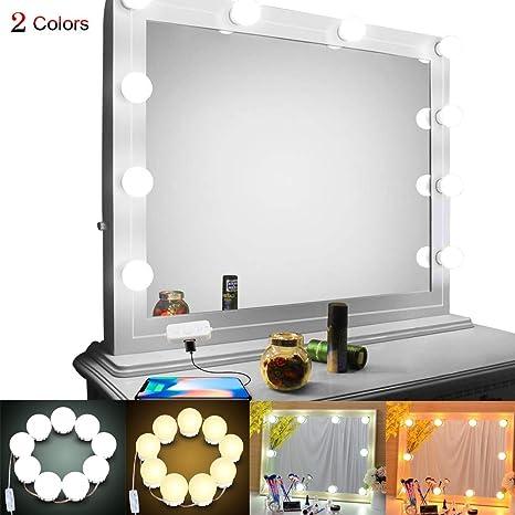 Vanity Lights Led Bulbs Hollywood Style Diy Vanity Makeup Mirror