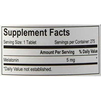 Sleep Right Melatonin 5 mg, 275 pills Time Released review