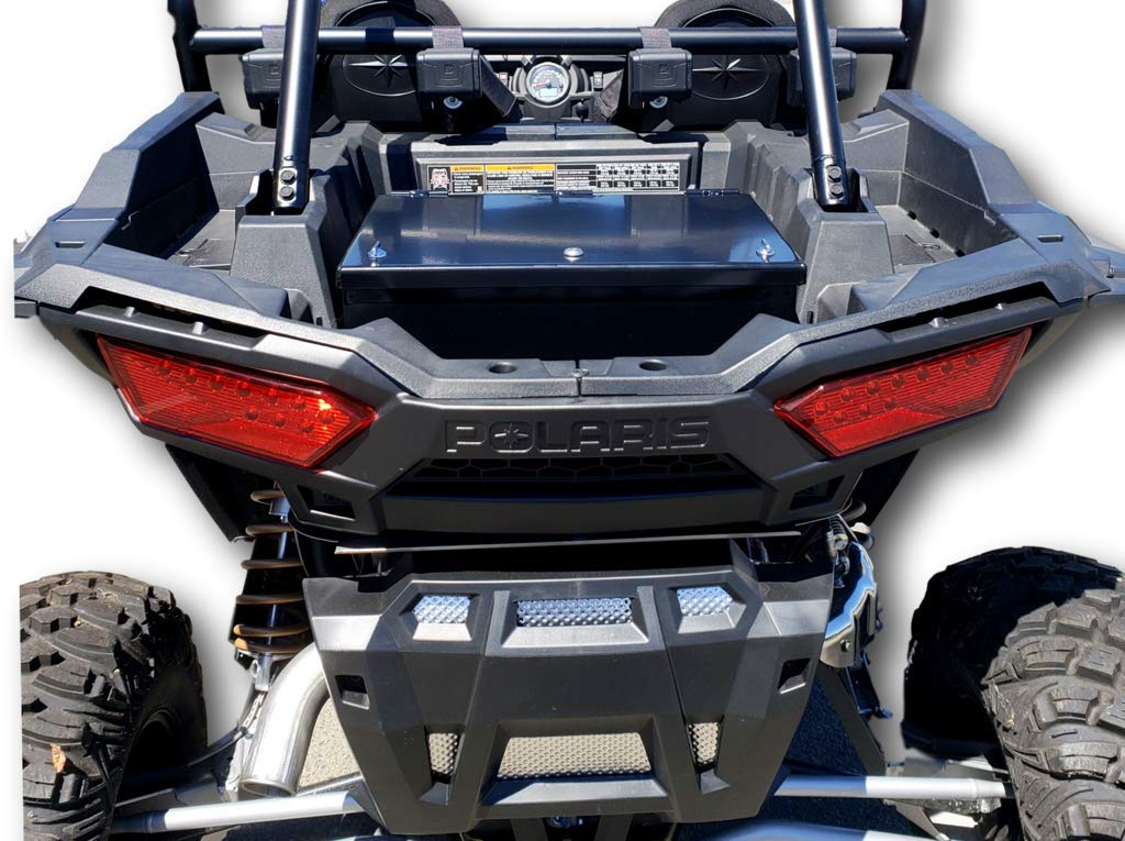 Hi-Standard Outfitters 2015-18 Polaris RZR 1000 リアカーゴストレージセキュリティボックス 12030   B07J52NVHM