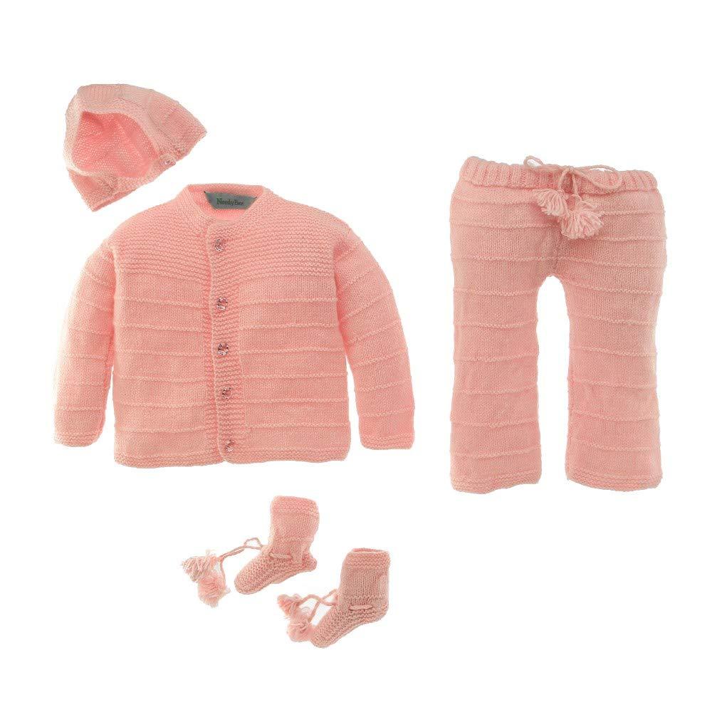 Newborn 4 piece sweater set