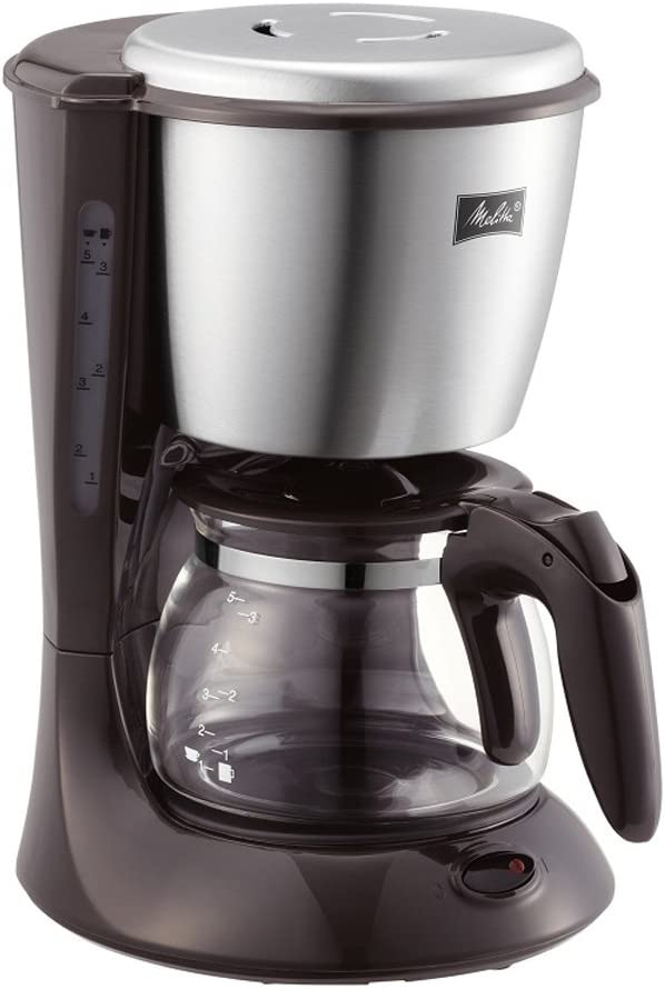 Melitta (Melita) coffee maker [2-5 tablespoons] ES (Eze) Dark brown SKG56T