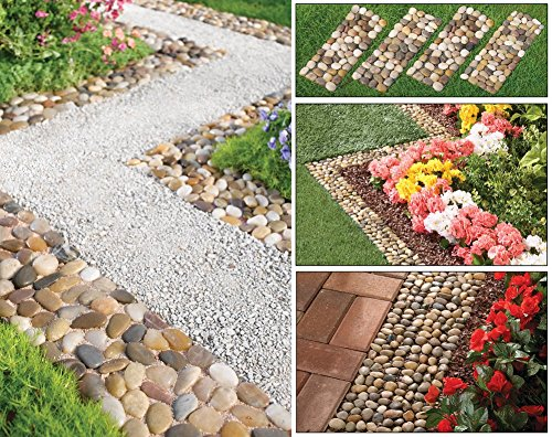 set-of-4-stone-pebble-garden-path-mats-outdoor-pathway-trail-flowerbed-walkway-edging-border-mat-nat