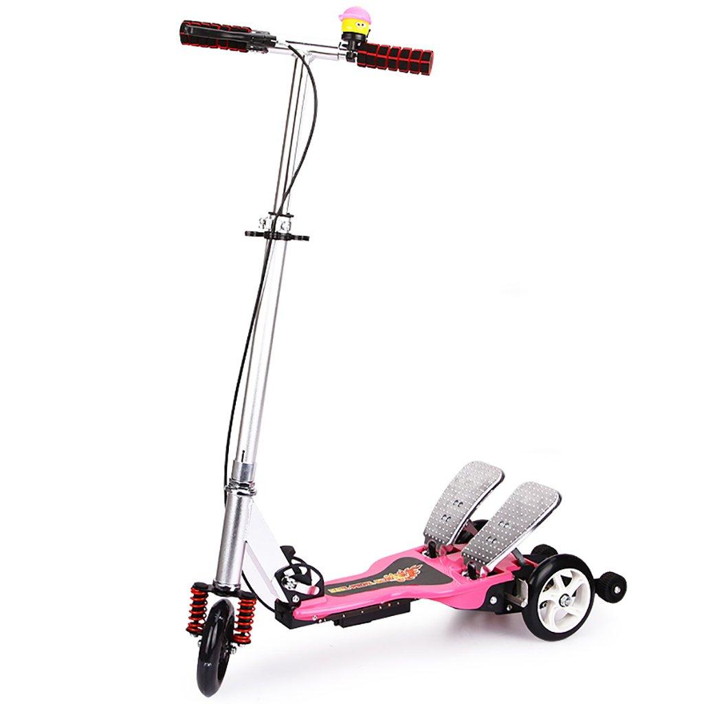 YONGLIANG ダブルトレッドミル子供用スクーター折りたたみ式5-6-14歳赤ちゃん折りたたみ式ベビーベビーカー 青) B07BPSXP9N (色 : 青) Pink B07BPSXP9N Pink Pink, なると小町:a5bf266b --- integralved.hu