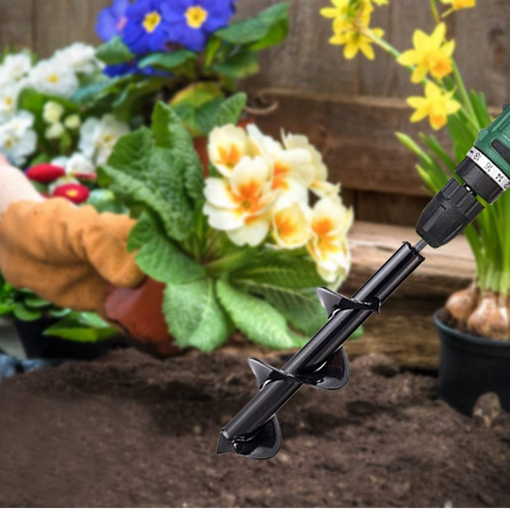 "3 Sizes Garden Plant Flower Auger Drill Bit Rapid Planter For 3//8"" Hex"